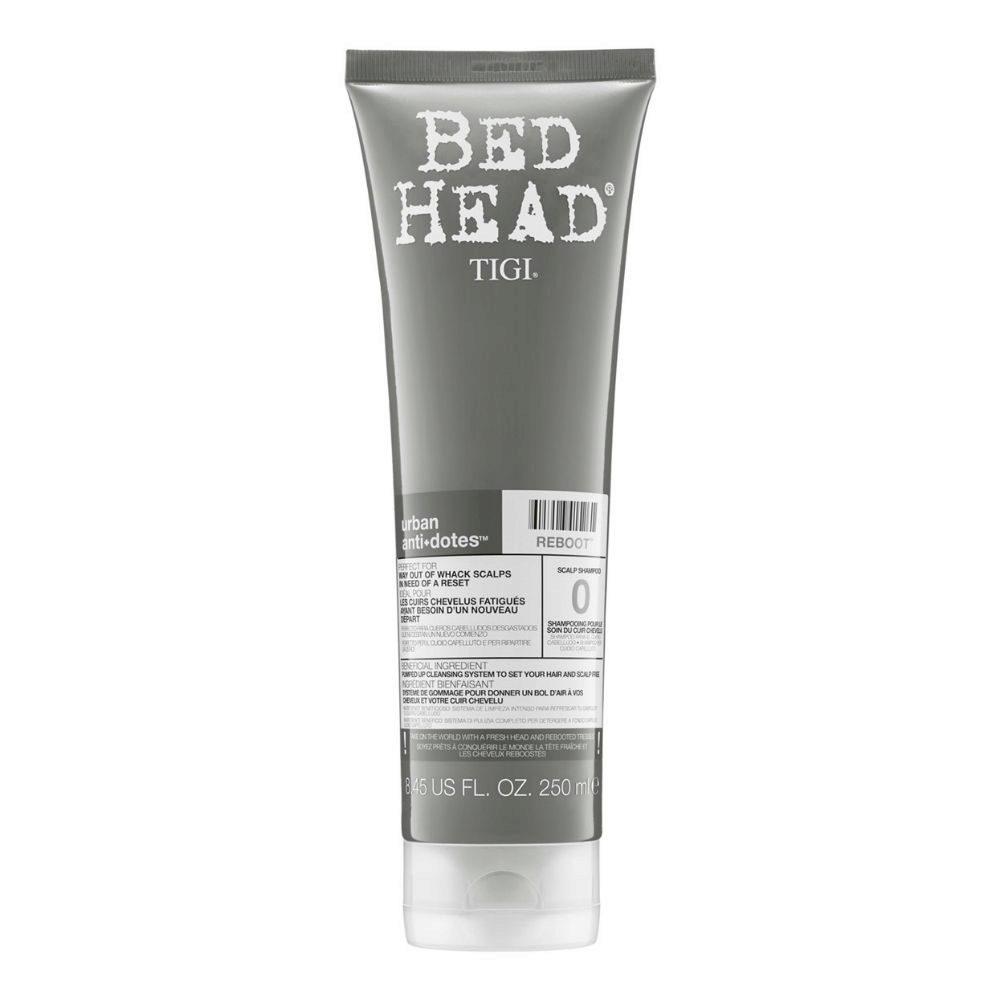 Tigi Bed Head Urban Antidotes 0 Reboot Shampoo 250ml - cuir chevelu sensible