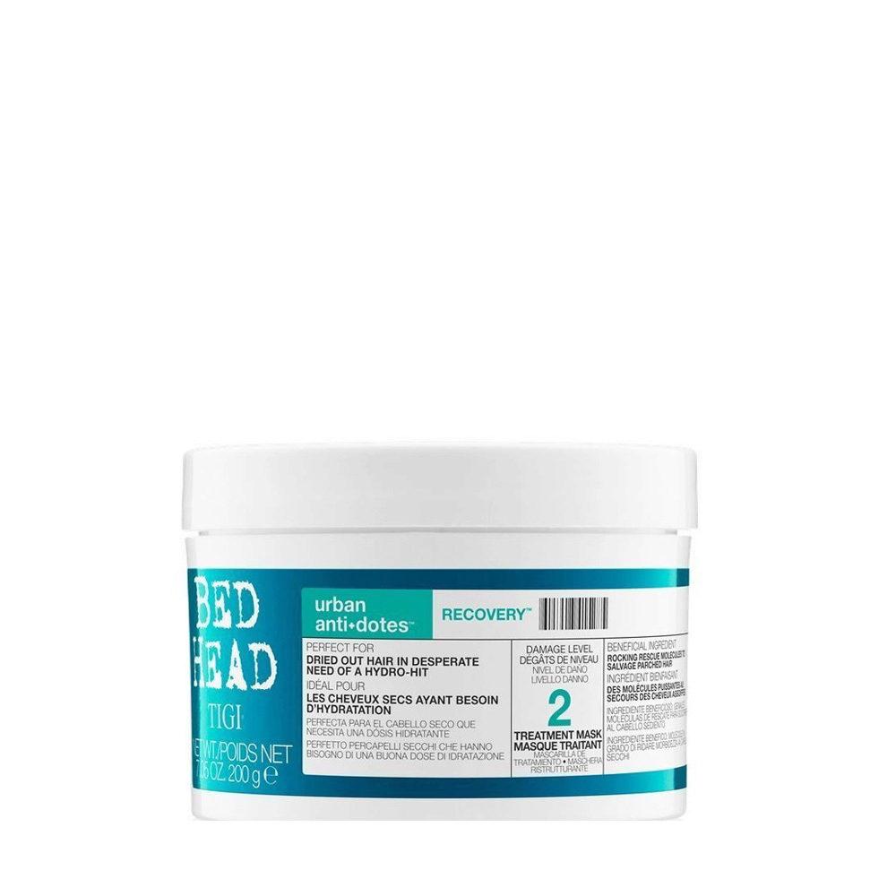 Tigi Urban Antidotes Recovery treatment mask 200gr - masque restructurant niveau 2