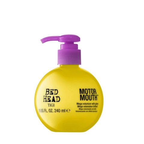 Tigi Bed Head Motor Mouth 240ml - crème volumisant avec un fini lumineux