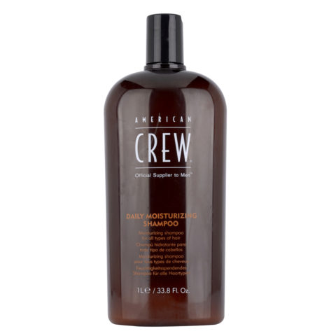American crew Daily moisturizing shampoo 1000ml - shampooing hydratant quotidien