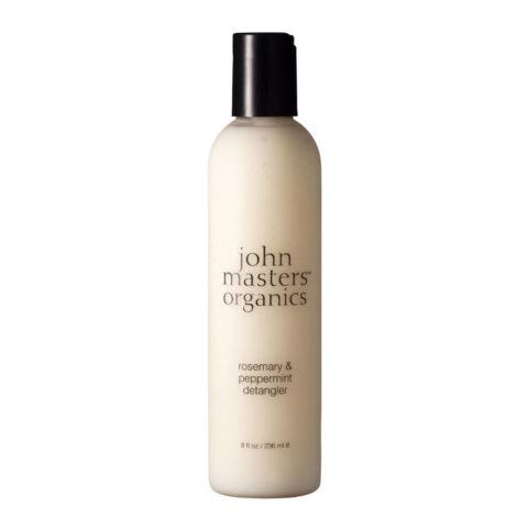 John Masters Organics Rosemary & Peppermint Detangler 236ml Après-shampooing démêlant