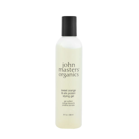 John Masters Organics Haircare Sweet Orange & Silk Protein Styling Gel 236ml