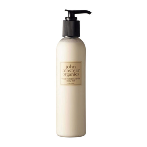 John Masters Organics Blood Orange & Vanilla Body Milk 236ml lait corporel orange et vanille