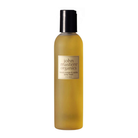 John Masters Organics Blood Orange & Vanilla Body Wash 236ml - Nettoyant pour le corps orange rouge et vanille
