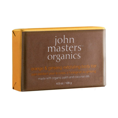 John Masters Organics Orange & Ginseng Exfoliating Body Bar 128gr