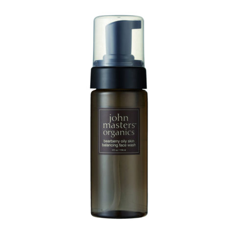 John Masters Organics Bearberry Oily Skin Balancing Face Wash 118ml - rééquilibrant nettoyant visage