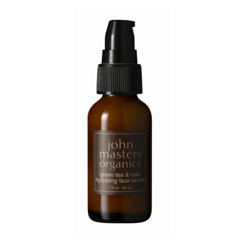 John Masters Organics Green Tea & Rose Hydrating Face Serum 30ml - Crème hydratante visage