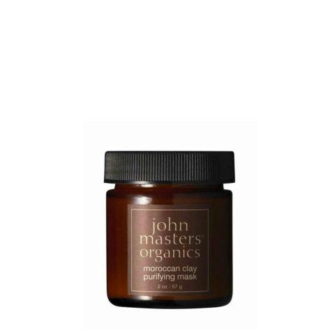 John Masters Organics Moroccan Clay Purifying Mask 57gr - Masque purifiant à l'argile de Maroc