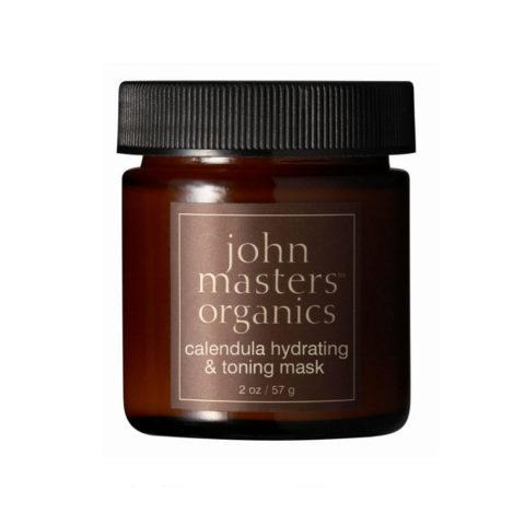 John Masters Organics Calendula Hydrating & Toning Mask 57gr - Masque hydratant et tonifiant au calendula.