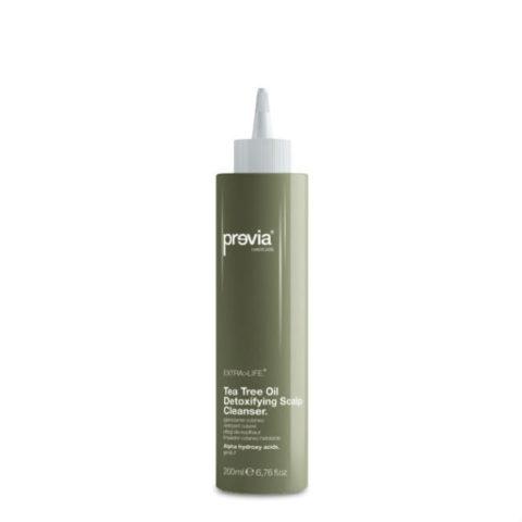 Previa Extra>Life Tea Tree Oil Detoxifying Scalp clean 200ml