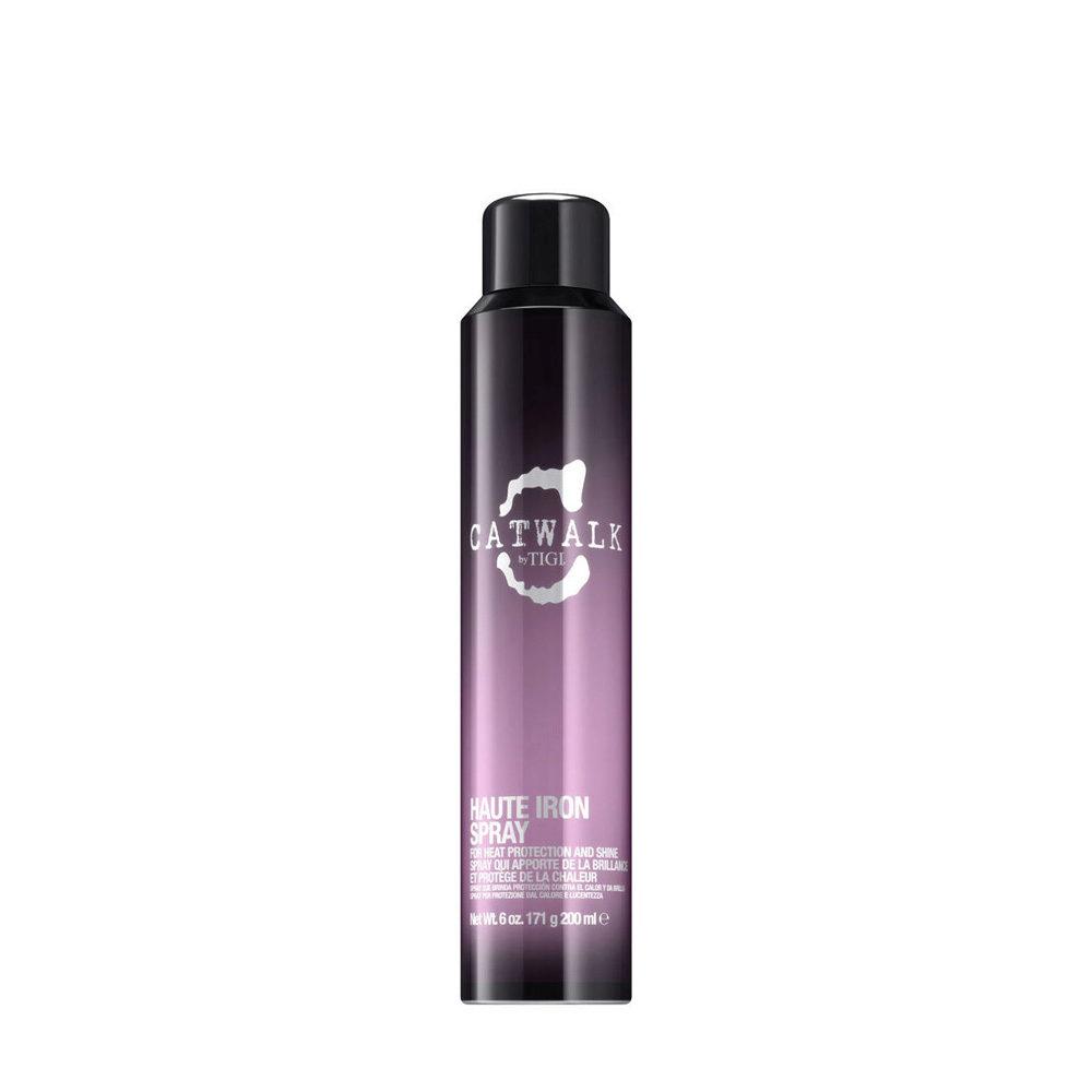 Tigi Catwalk Headshot Haute Iron Spray 200ml - spray de protection thermique