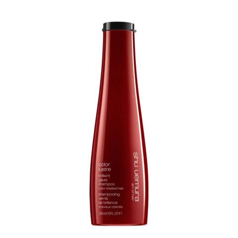 Shu Uemura Color lustre Brilliant glaze shampoo 300ml - Shampooing pour cheveux colorés