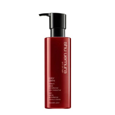 Shu Uemura Color lustre Brilliant glaze conditioner 250ml - Après-Shampooing pour cheveux colorés