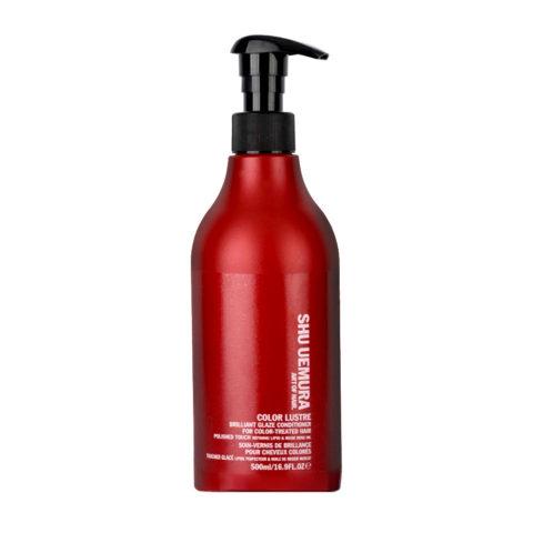 Shu Uemura Color lustre Brilliant glaze conditioner 500ml - Après-Shampooing pour cheveux colorés
