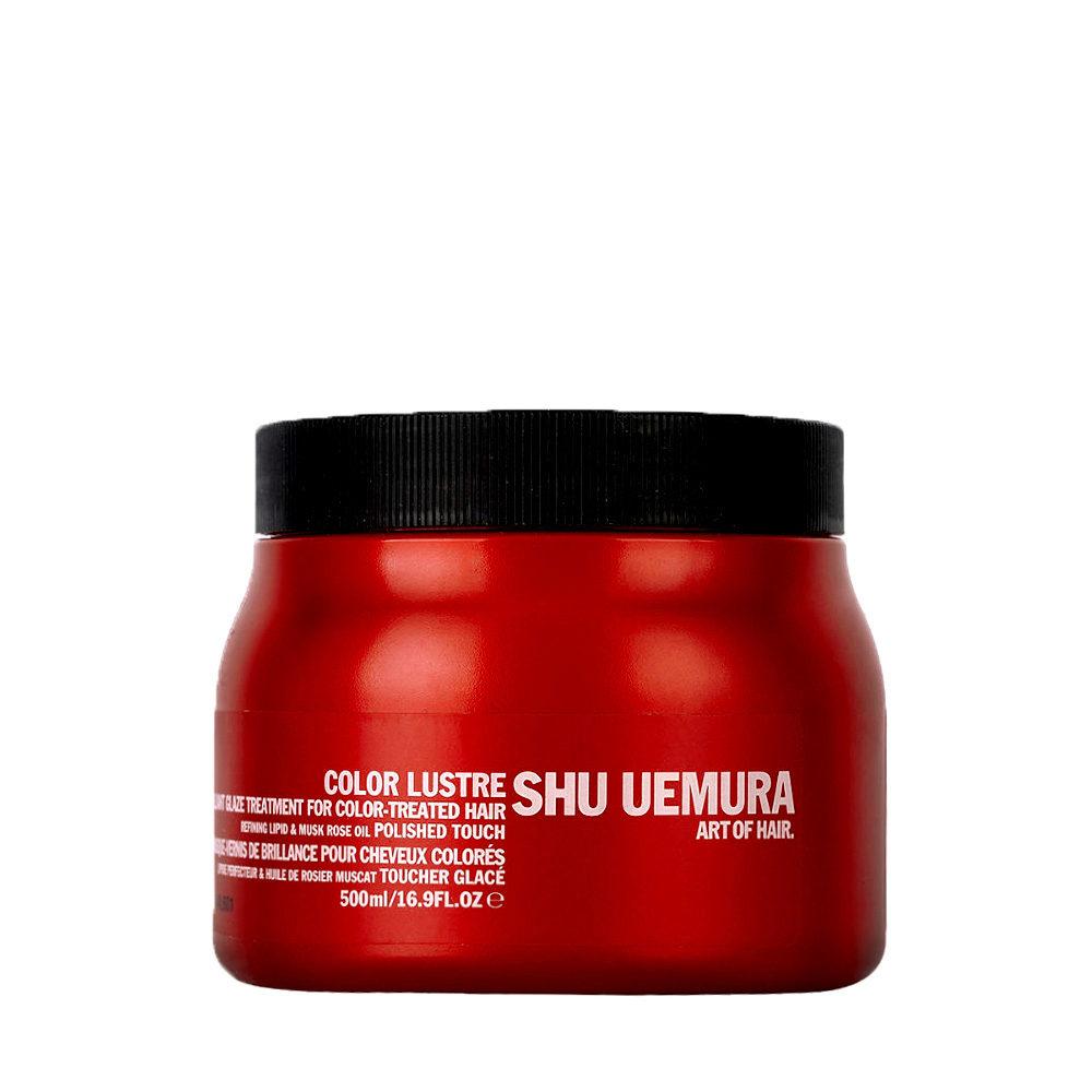 Shu Uemura Color lustre Brilliant glaze treatment masque 500ml - masque pour cheveux colores