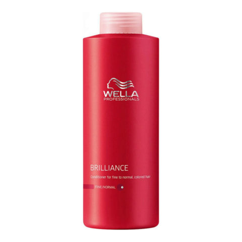 Wella Brilliance Conditioner 1000ml - après-shampooing cheveux fins/normaux