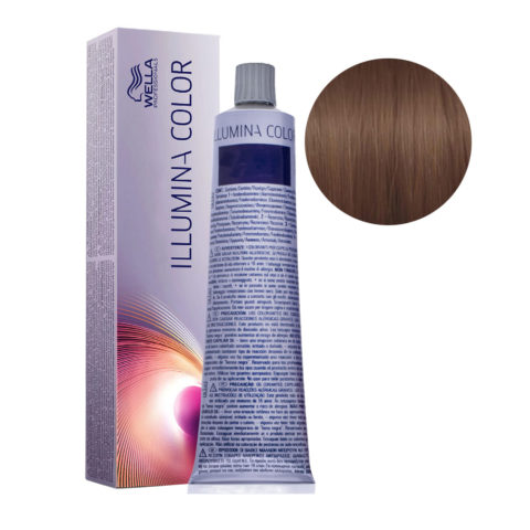 6/76 Blond Foncé Marron Violine Wella Illumina Color 60ml