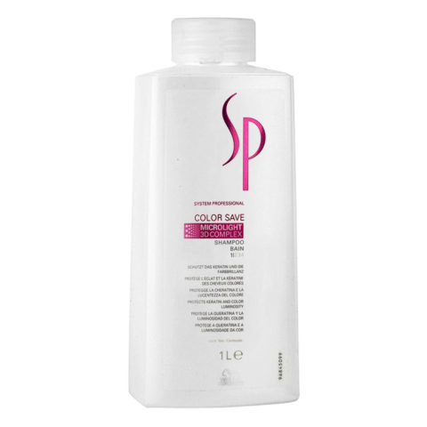 Wella System Professional Color Save Shampoo 1000ml - shampooing cheveux colorès