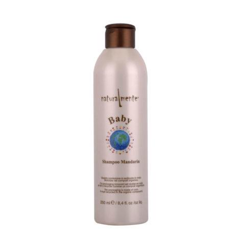 Naturalmente Baby Shampoo Mandarin 250ml - Shampooing bio à la mandarine