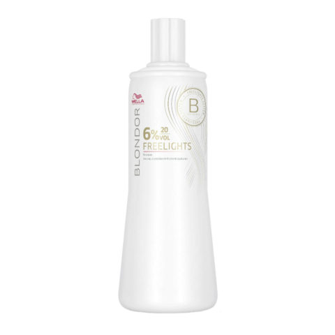 Wella Blondor Freelights Developer 6% 20 vol. 1000ml