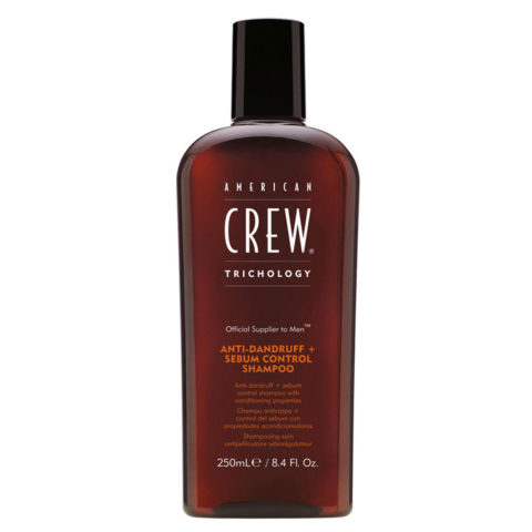 American crew Thricology Anti-dandruff  Sebum control shampoo 250ml