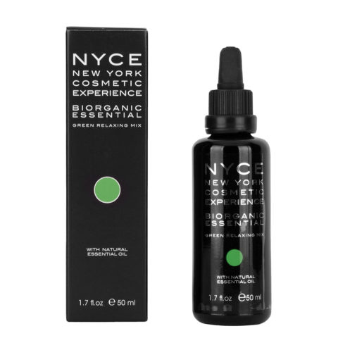 Nyce Biorganic essential Green relaxing mix 50ml - Huile essentielle relaxante