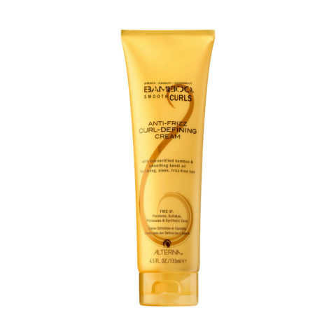 Alterna Bamboo Smooth Curls Anti-frizz Curl defining cream 133ml