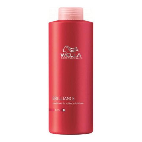 Wella Brilliance Conditioner 1000ml - après-shampooing cheveux gros