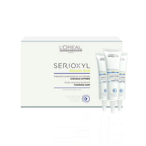 L'Oreal Serioxyl Glycolic acid Scalp cleansing treatment 15x15ml