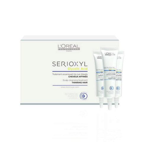 L'Oreal Serioxyl Glycolic acid Scalp cleansing treatment 15x15ml