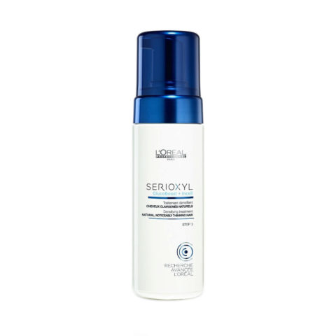 L'Oreal Serioxyl Aqua mousse Foam tech Densifying treatment cheveux naturels 125ml