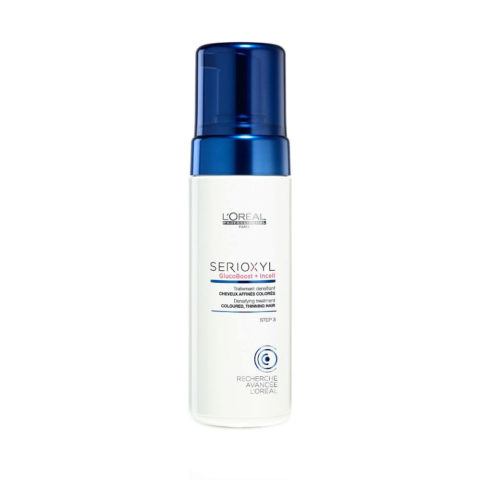 L'Oreal Serioxyl Aqua mousse Foam tech Densifying treatment cheveux colorés 125ml