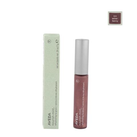 Aveda nourish-mint™ rehydrating lip glaze 644 wineberry 7gr