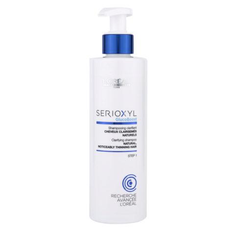 L'Oreal Serioxyl Clarifying shampoo cheveux naturels 250ml