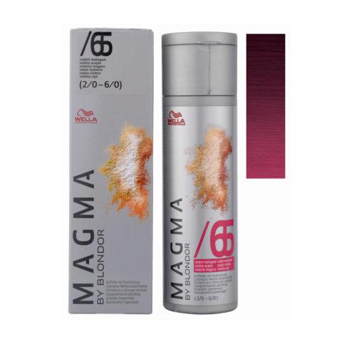 /65 Violet acajou Wella Magma 120gr