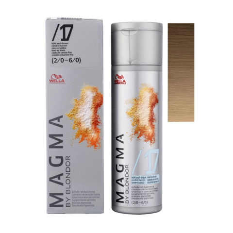 /17 Chatain cendré Wella Magma 120gr