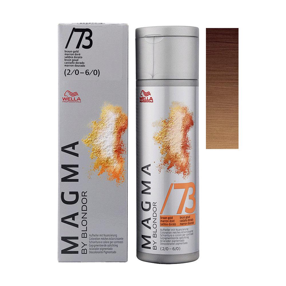 /73 Chatain doré Wella Magma 120gr
