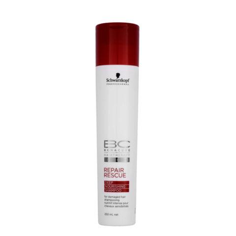Schwarzkopf BC Bonacure Repair Rescue Deep Nourishing Shampoo 250ml - Shampooing réparateur