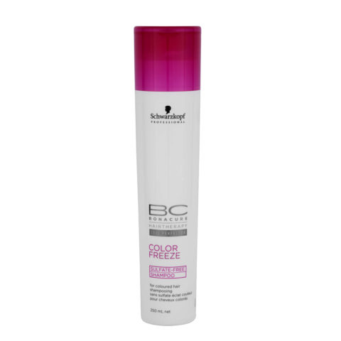 Schwarzkopf BC Bonacure Color Freeze Sulfate Free Shampoo 250ml - Shampooing pour cheveux colorés