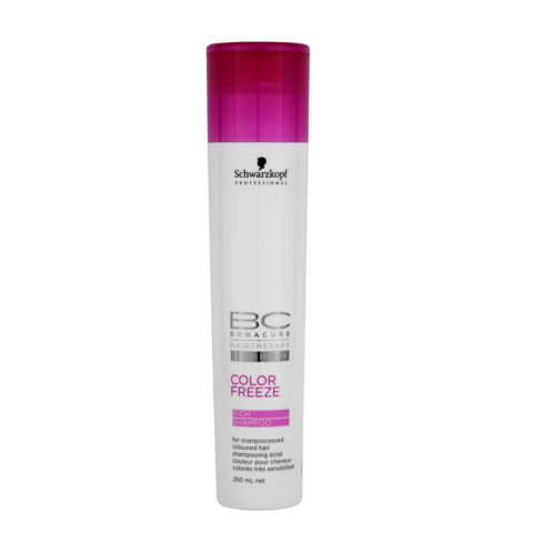 Schwarzkopf BC Bonacure Color Freeze Rich Shampoo 250ml - Shampooing pour cheveux colorés