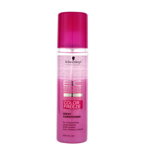 Schwarzkopf BC Bonacure Color Freeze Spray Conditioner 200ml - Après-Shampooing en spray pour cheveux colorés