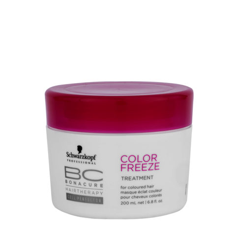 Schwarzkopf BC Bonacure Color Freeze Treatment 200ml - Masque revitalisant pour cheveux colorés