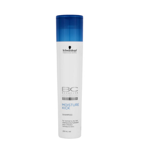 Schwarzkopf BC Bonacure Moisture Kick Shampoo 250ml - Shampooing hydratant