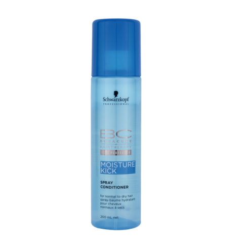 Schwarzkopf BC Bonacure Moisture Kick Spray Conditioner 200ml - Conditionneur hydratant