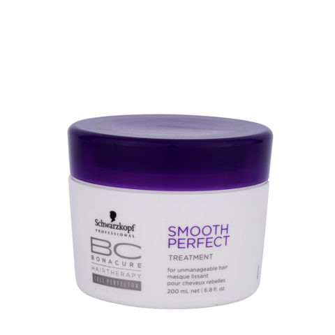 Schwarzkopf BC Bonacure Smooth Perfect Treatment 200ml - soin anti-crépu