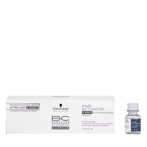 Schwarzkopf BC Bonacure Hairgrowth Hair Activator 7x10ml - Traitement revitalisant