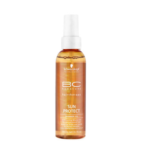 Schwarzkopf BC Bonacure Sun Protect Shimmer Oil Spray 150ml - protecteur solaire