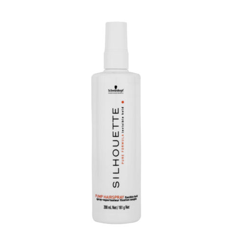 Schwarzkopf Silhouette Flexible Hold Pump Hairspray 200ml - Spray de finition à tenue variable