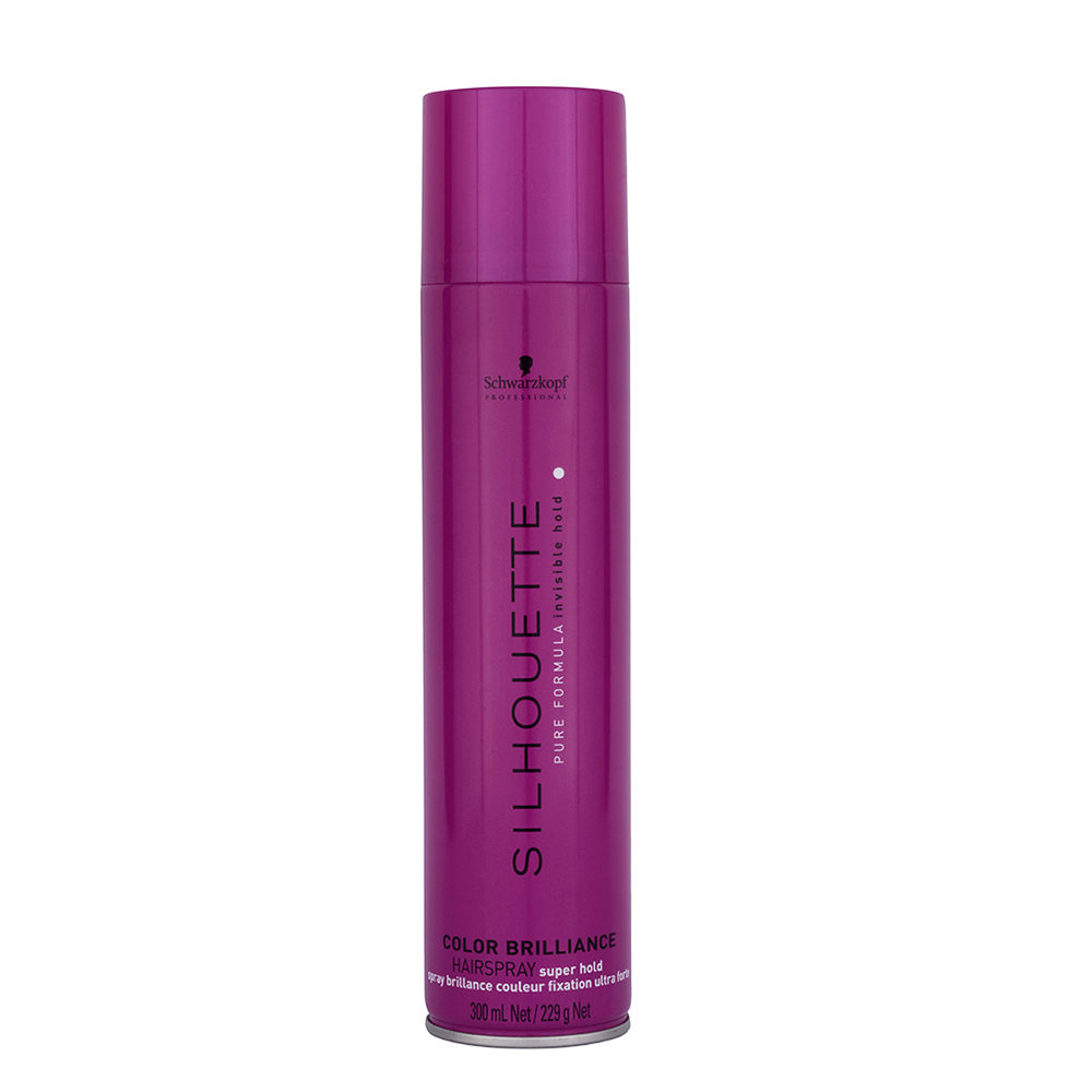 Schwarzkopf Silhouette Color Brilliance Super Hold Hairspray 300ml - laque fort