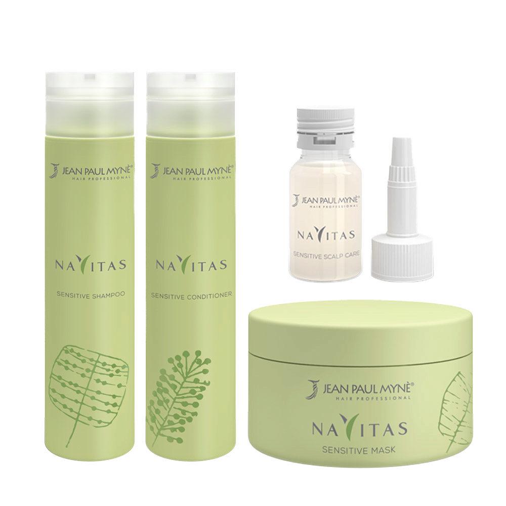 Jean Paul Mynè Navitas Kit Shampoo 250ml Scalp care 10x15ml Conditioner 250ml Mask 200ml